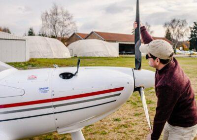 Formation au Brevet de Pilotage d'ULM multiaxe