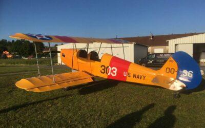 Cours de pilotage avion dans les Vosges
