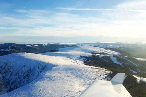 Vol en ULM dans les Vosges